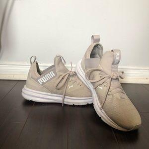 Women's Puma Beige Sneakers 7.5